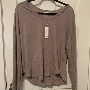 NWT Sundry long sleeve top